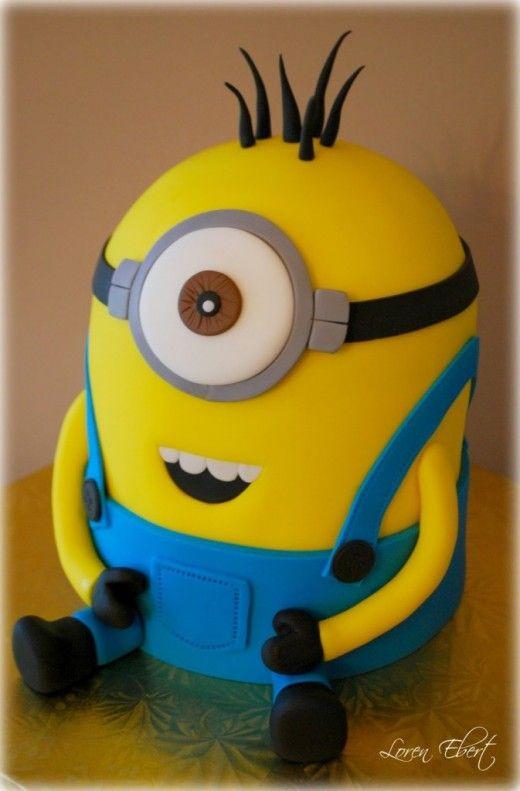 Minion Birthday Cake  Minion Birthday Cakes