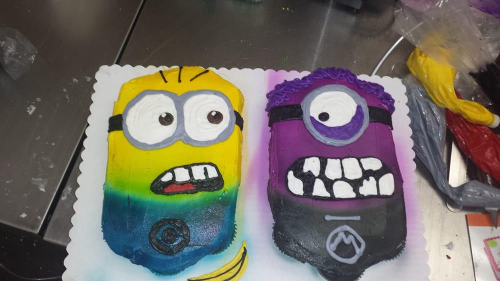 Minions Birthday Cake Walmart  24 ct minion cupcake cake only $14 98