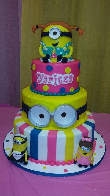Minions Birthday Cake Walmart  Despicable Me Cakes Walmart to Pin on Pinterest