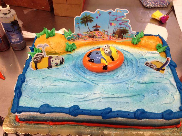 Minions Birthday Cake Walmart  Despicable me 2 cake Despicable Me