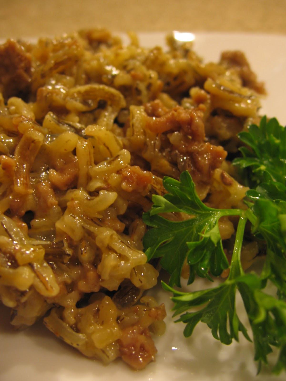 Minnesota Wild Rice  cookin up north Minnesota Wild Rice Hot dish