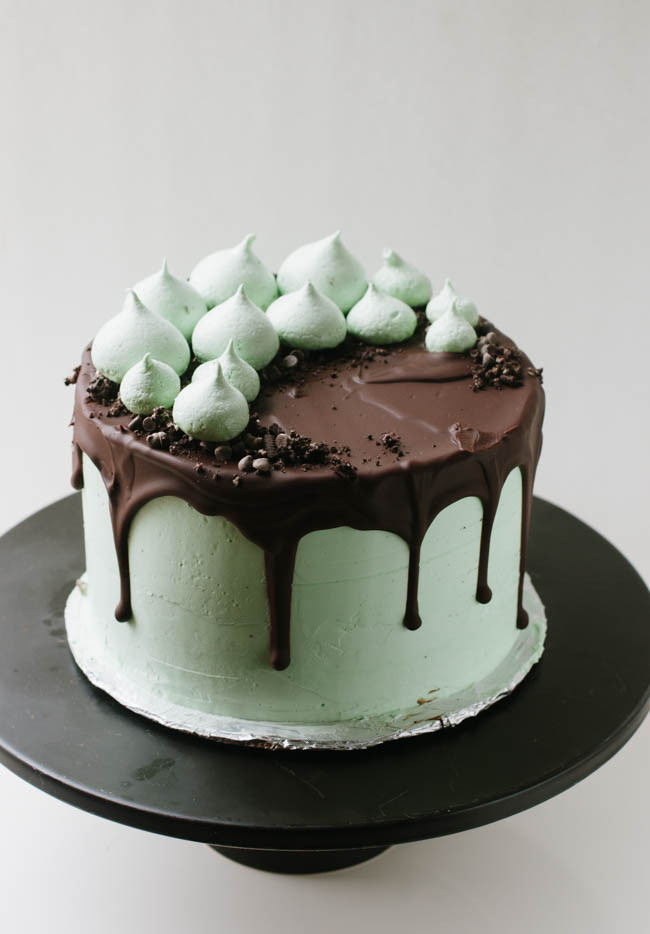 Mint Chocolate Chip Cake  Mint Chocolate Chip Cookie Crunch Cake
