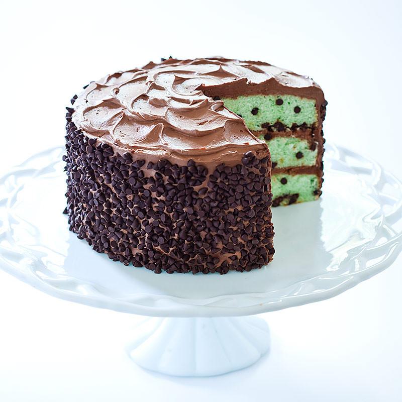 Mint Chocolate Chip Cake  Mint Chocolate Chip Cake