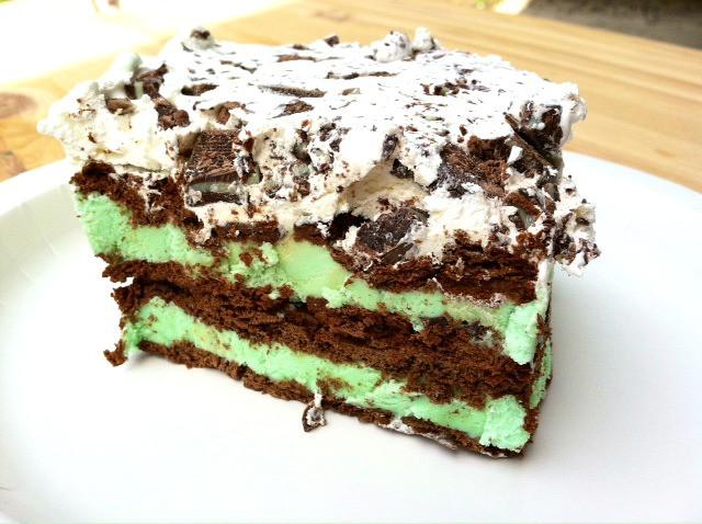 Mint Chocolate Chip Ice Cream Cake  Mint Chocolate Chip Ice Cream Cake