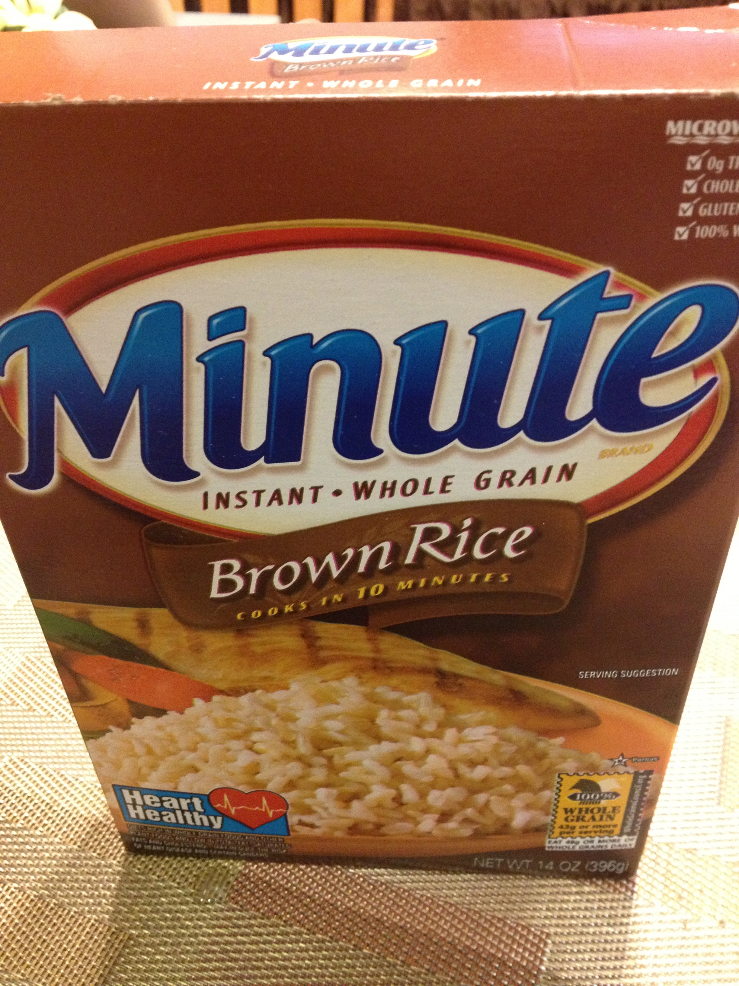Minute Brown Rice  LoveEveryMinute Using Minute Rice For Dinner