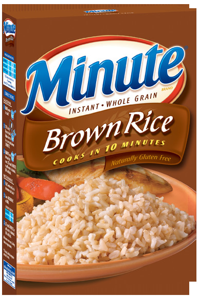 Minute Brown Rice  Minute Whole Grain Brown Rice We can help