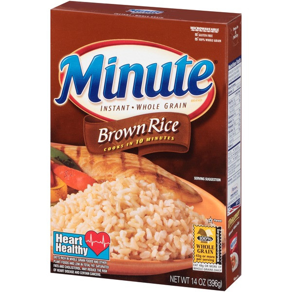 Minute Brown Rice  Minute Rice Minute Instant Whole Grain Brown Rice from