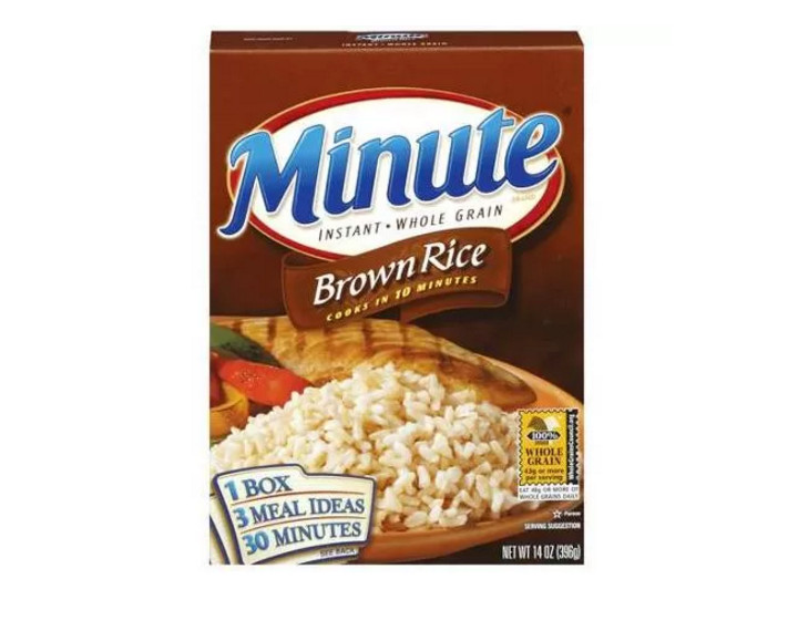 Minute Brown Rice  Minute Rice Coupons and Rebate Pay as Low as $0 49