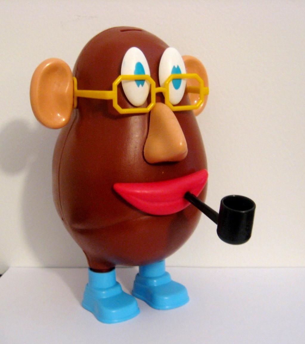 Mister Potato Head  1970 s Mr Potato Head with Original Box & Pipe