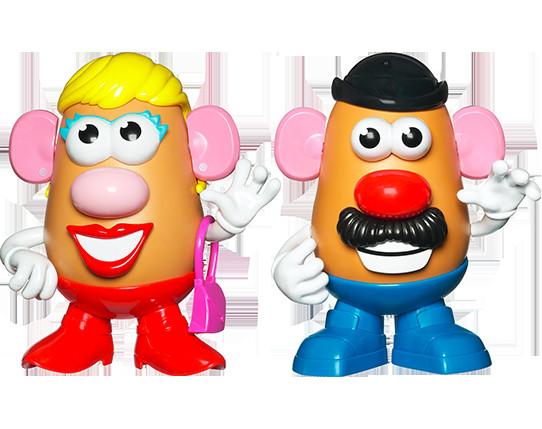 Mister Potato Head  Bumblebee Mr and Mrs Potato Head March into Bristol