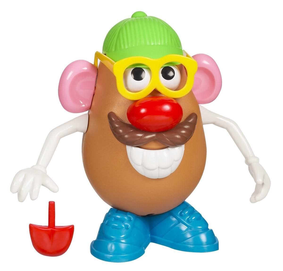 Mister Potato Head  Plus1Press Pizza Face Mr Potato Head WTF