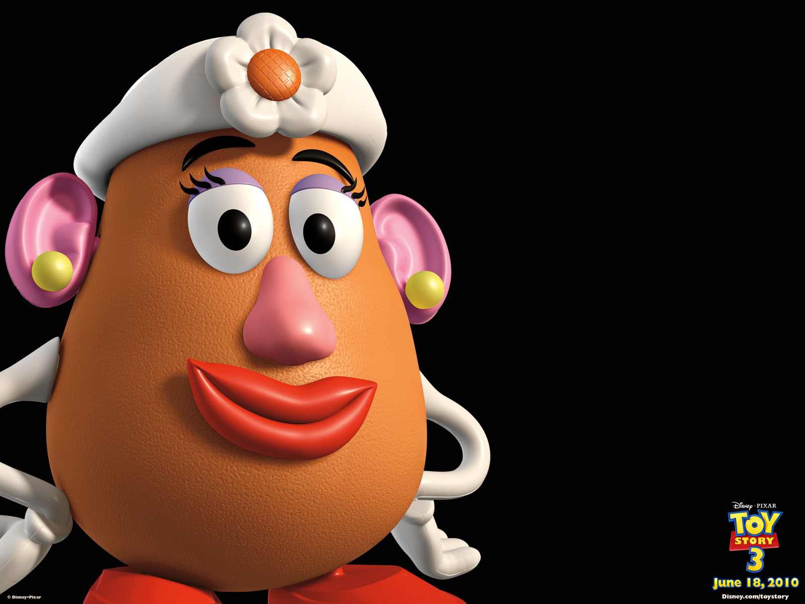 Mister Potato Head  Mrs Potato Head Pixar Wiki