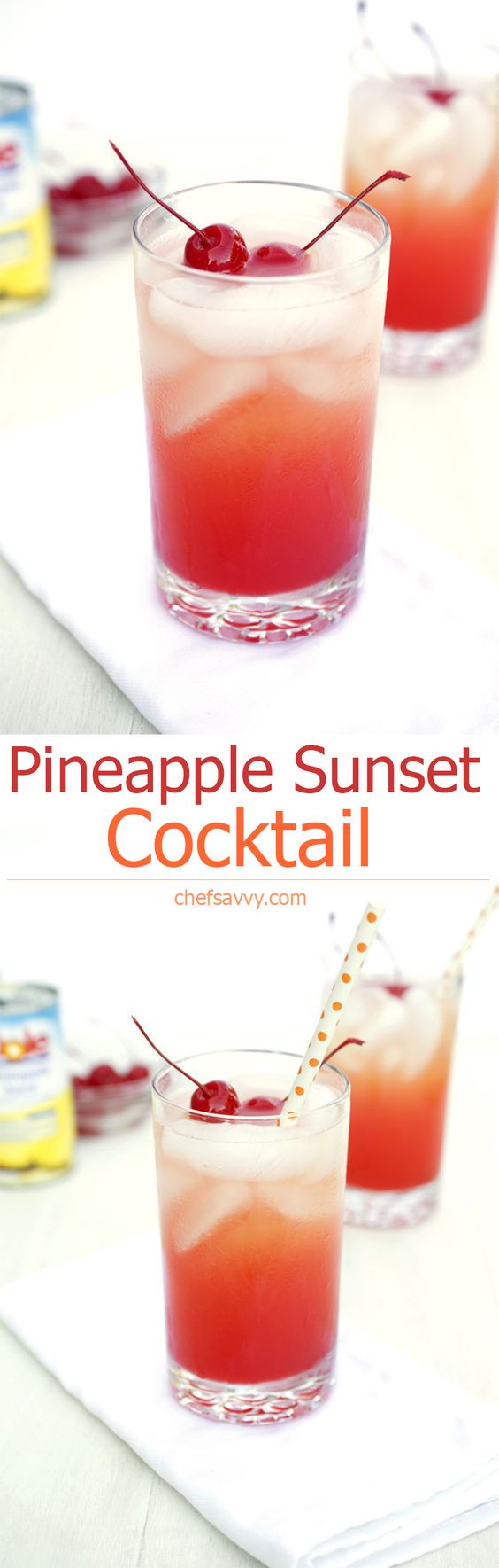 Mixed Drinks With Vodka And Pineapple Juice  Pineapple Sunset Recipe