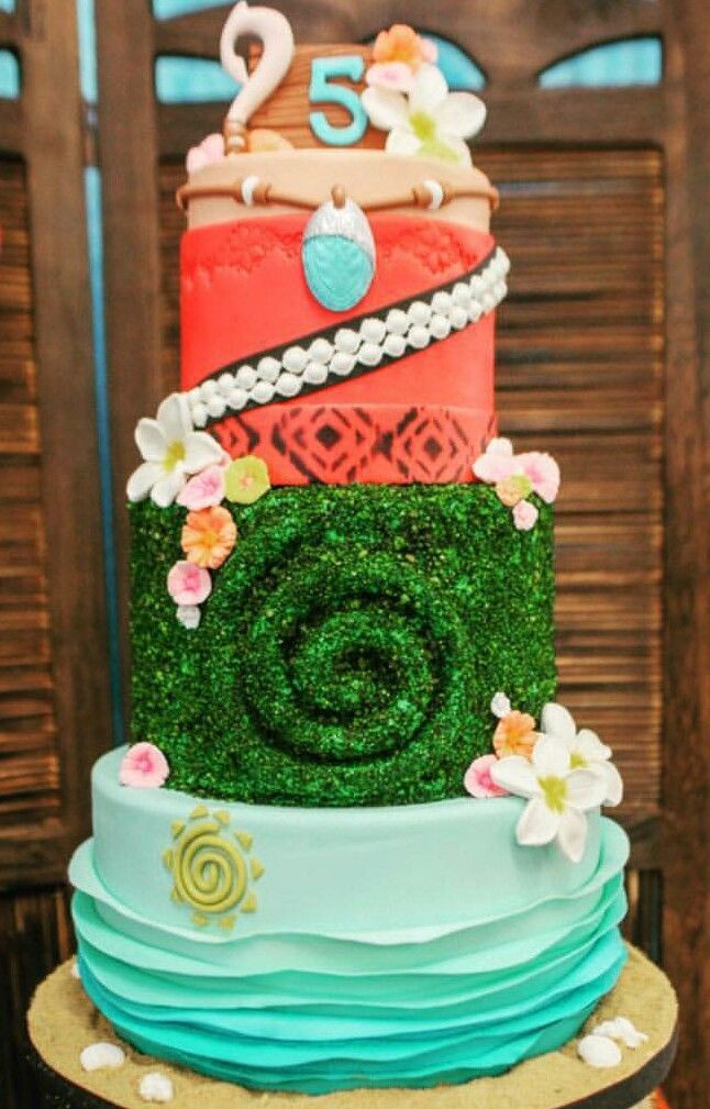 Moana Birthday Cake Ideas  303 best Moana Birthday Party Ideas images on Pinterest