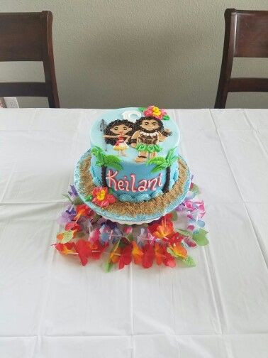 Moana Birthday Cake Ideas  Moana Birthday Cake Moana Party Pinterest