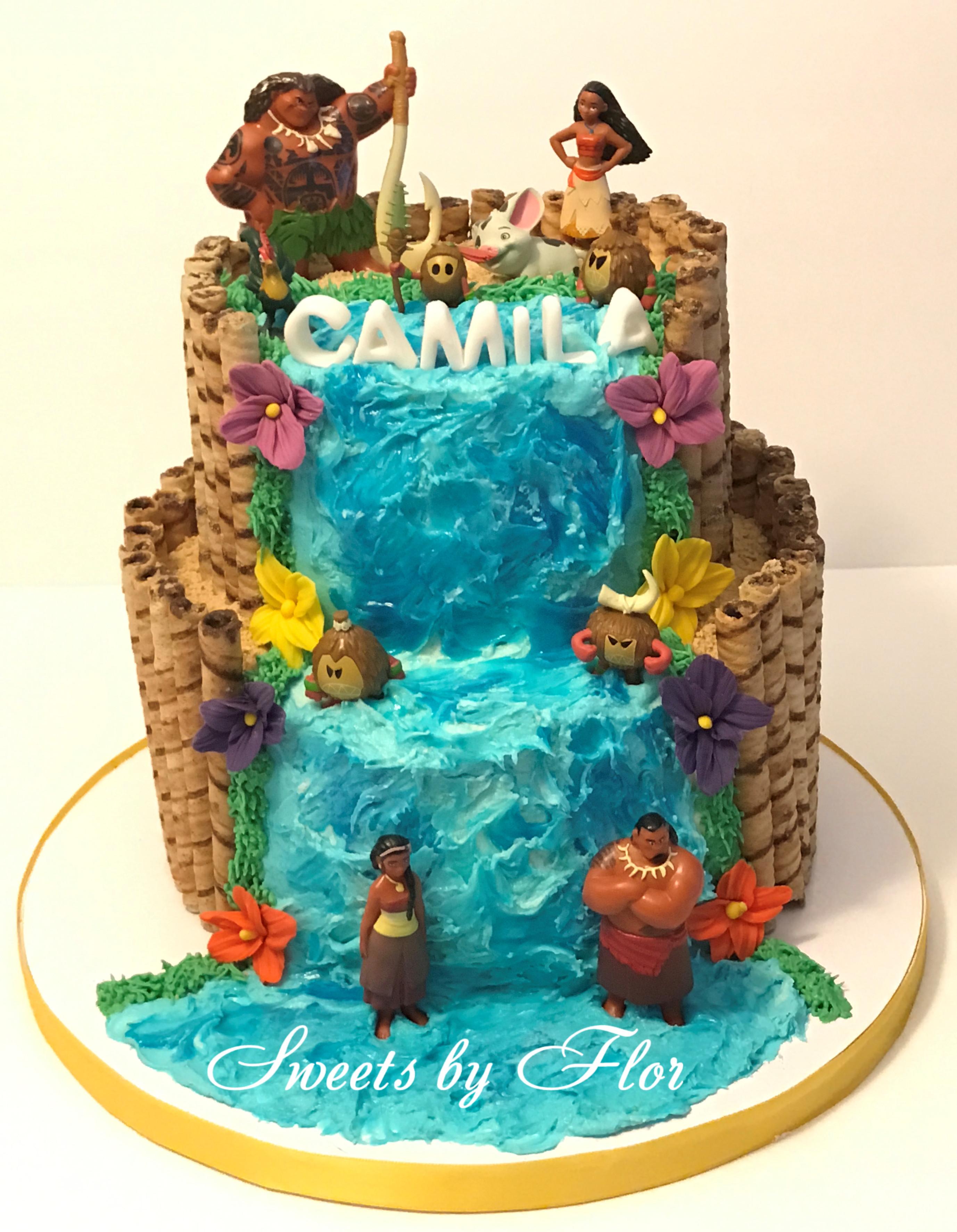Moana Birthday Cake Ideas  Moana theme cake