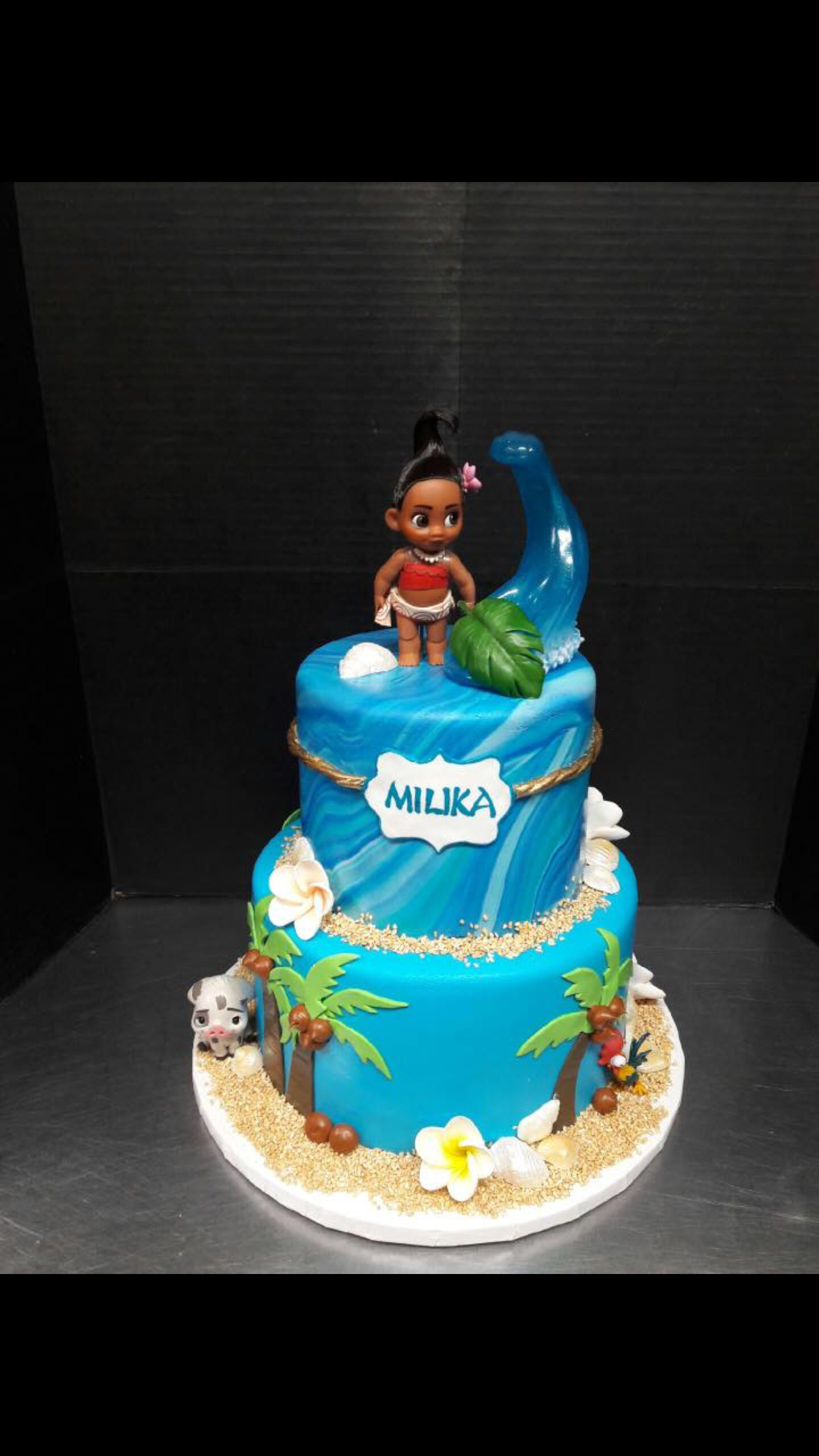 Moana Birthday Cake Ideas  Disney Moana birthday cake disneyprincess