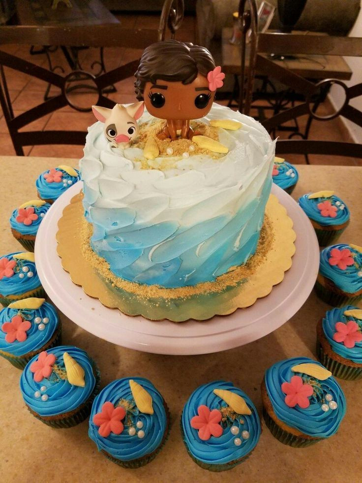Moana Birthday Cake Ideas  245 best images about Moana Polynesian Party on Pinterest