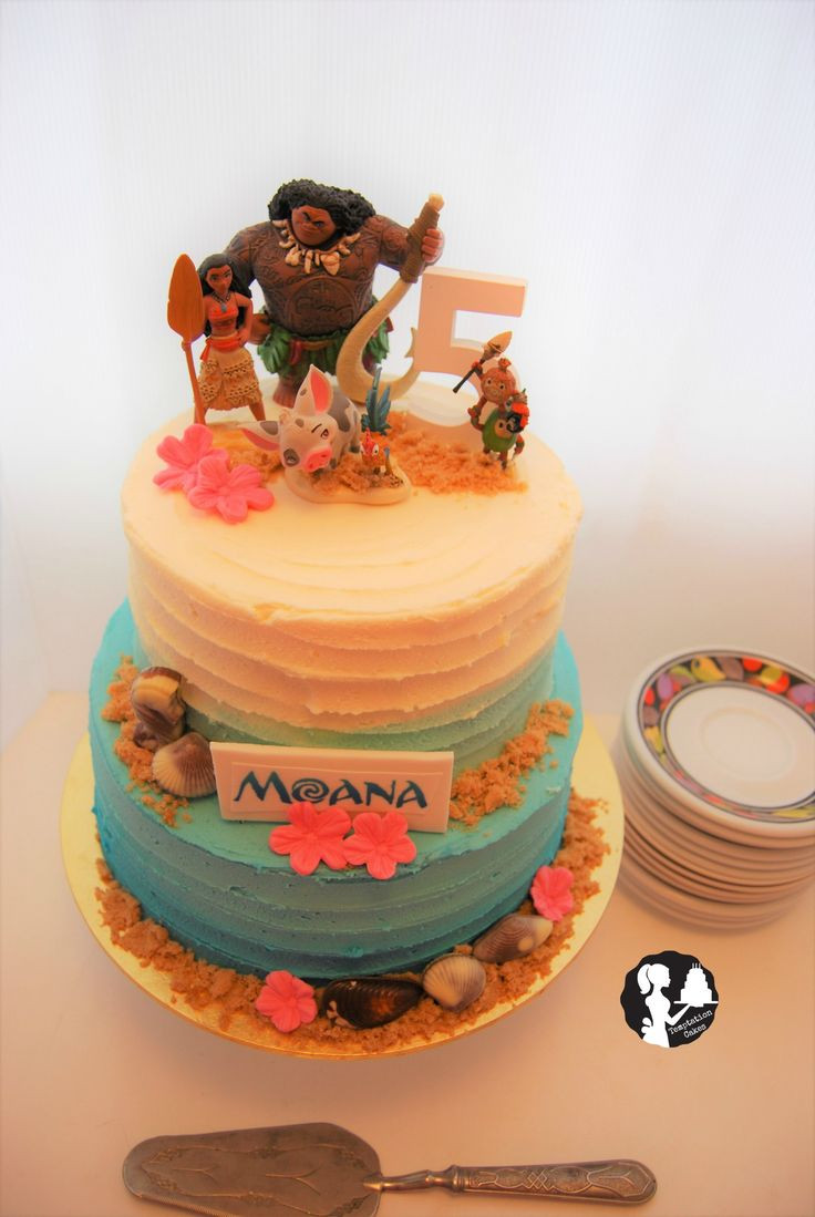 Moana Birthday Cake Ideas  Best 25 Mohana cake ideas on Pinterest