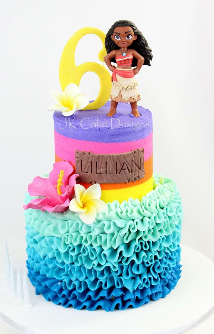 Moana Birthday Cake Ideas  Moana themed birthday cake JK Cake designs
