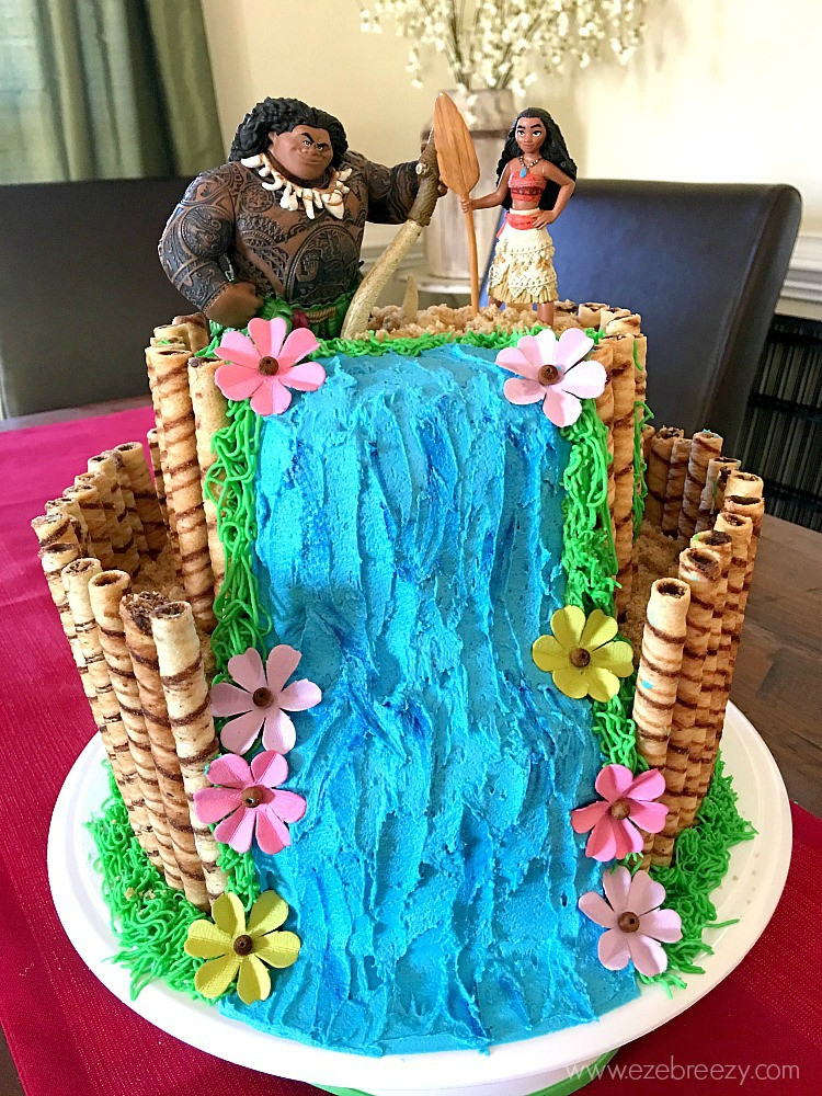 Moana Birthday Cake Ideas  How to Make A Moana Cake
