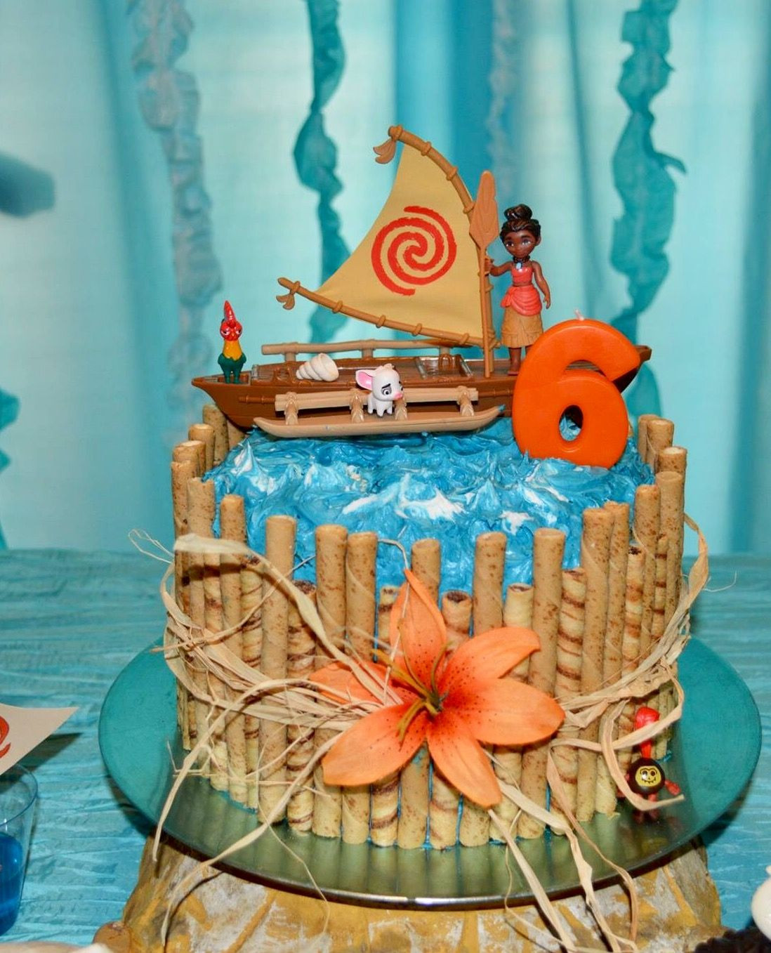 Moana Birthday Cake Ideas  Moana Party Cake Moana Party Pinterest