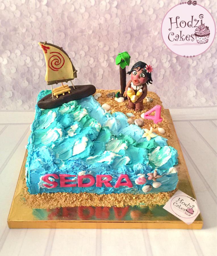 Moana Sheet Cake  Moana Cake👧🏾🌊☀️🏝🐚 cake by Hend Taha HODZI CAKES CakesDecor