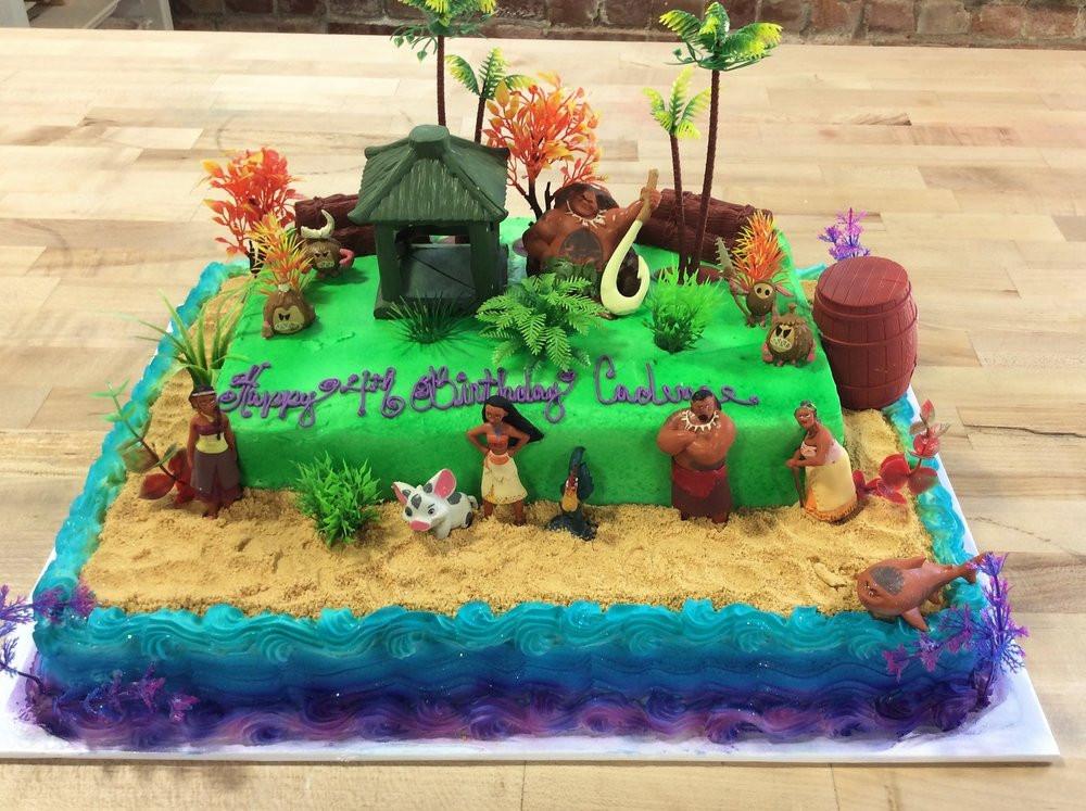 Moana Sheet Cake  Moana Specialty Cake — Trefzger s Bakery