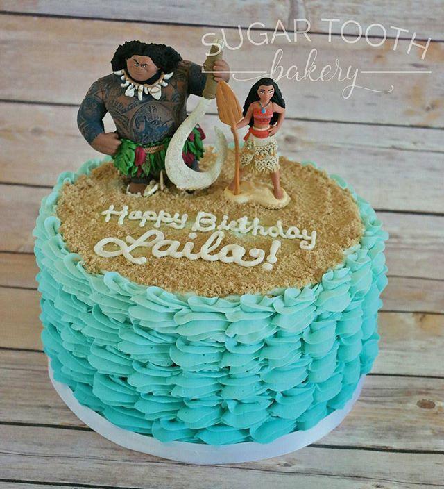 Moana Sheet Cake  Image result for easy moana sheet cake