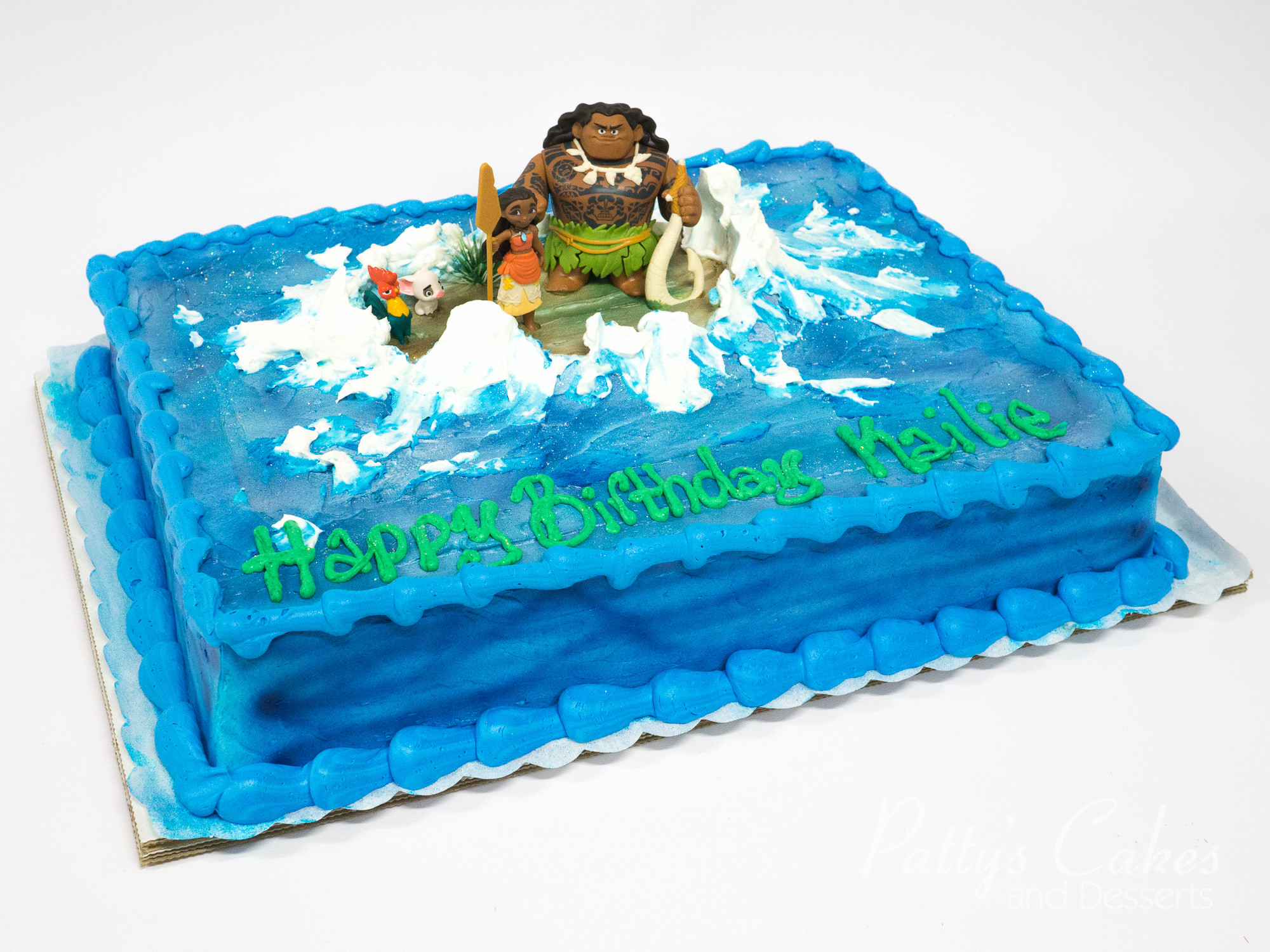 Moana Sheet Cake  of a moana birthday cake Patty s Cakes and Desserts