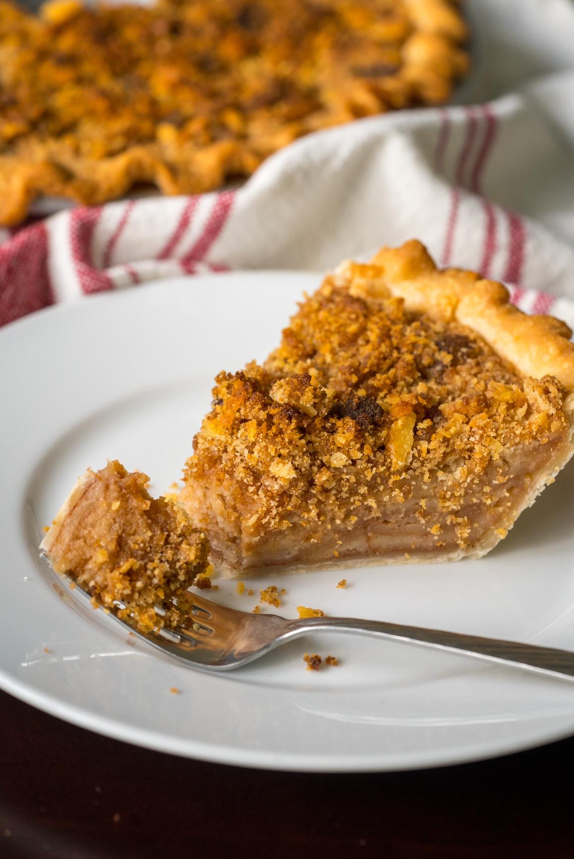 Mock Apple Pie  Depression Era Mock Apple Pie – Dusty Old Thing