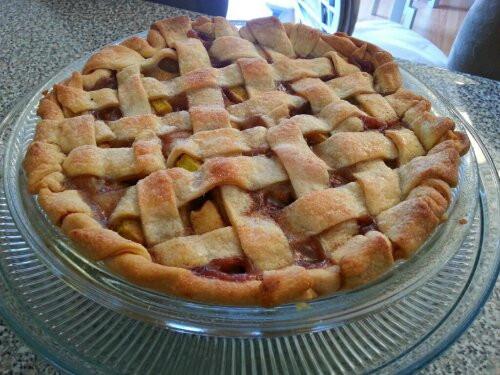 Mock Apple Pie  Zucchini Mock Apple Pie