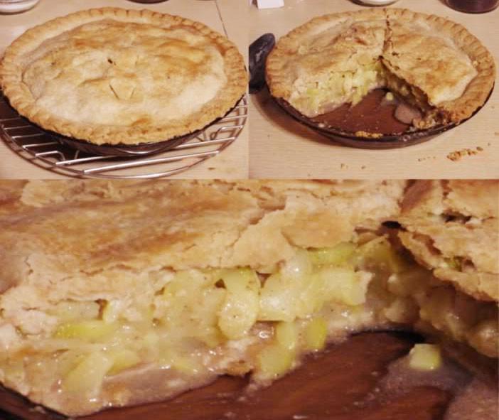Mock Apple Pie  Recipe Zucchini Mock Apple Pie From Netrition