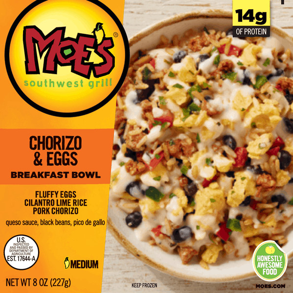 Moes Breakfast Bowls  $1 00 for Moe s Breakfast Bowls fer available at