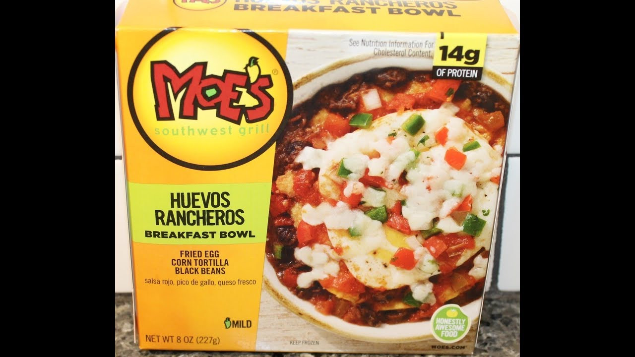 Moes Breakfast Bowls  Moe's Southwest Grill Huevos Rancheros Breakfast Bowl