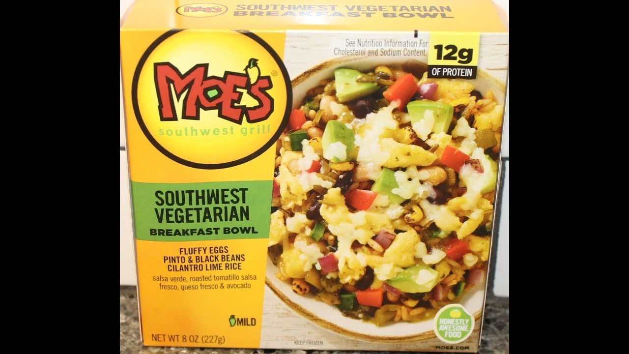 Moes Breakfast Bowls  Moe's Southwest Grill Southwest Ve arian Breakfast Bowl