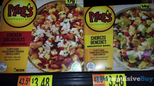 Moes Breakfast Bowls  SPOTTED ON SHELVES FROZEN BREAKFAST STUFF EDITION 6 14