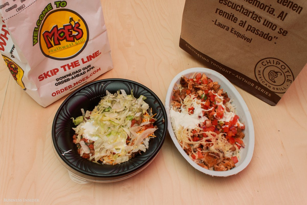 Moes Breakfast Bowls  Chipotle vs Moe s review Business Insider