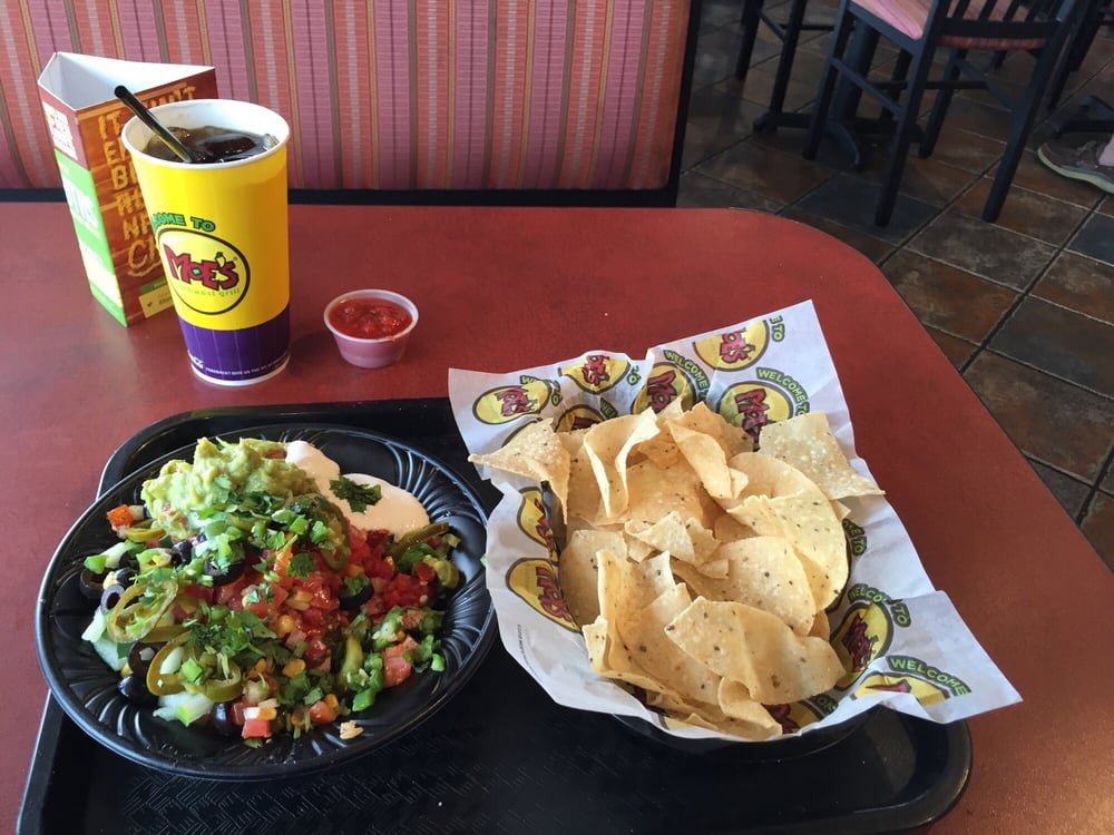 Moes Breakfast Bowls  Moe Monday Burrito Bowl chips & drink $6 49 Yelp