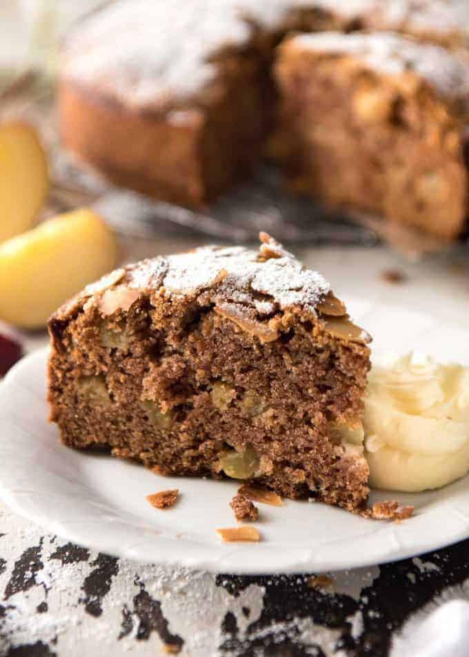 Moist Apple Cake Recipe  Easiest Ever MOIST Apple Cake