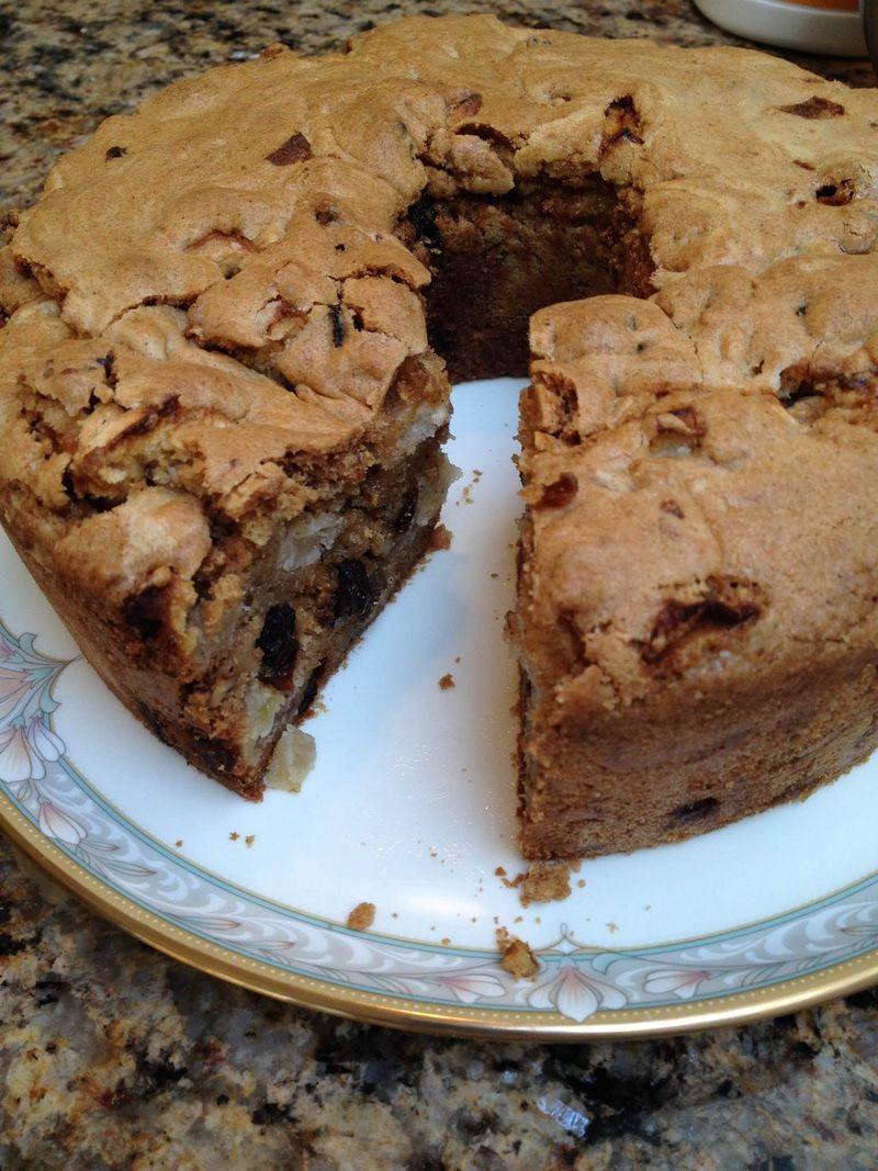 Moist Apple Cake Recipe  Extremely Moist Apple Cake Recipe Friends Food Family