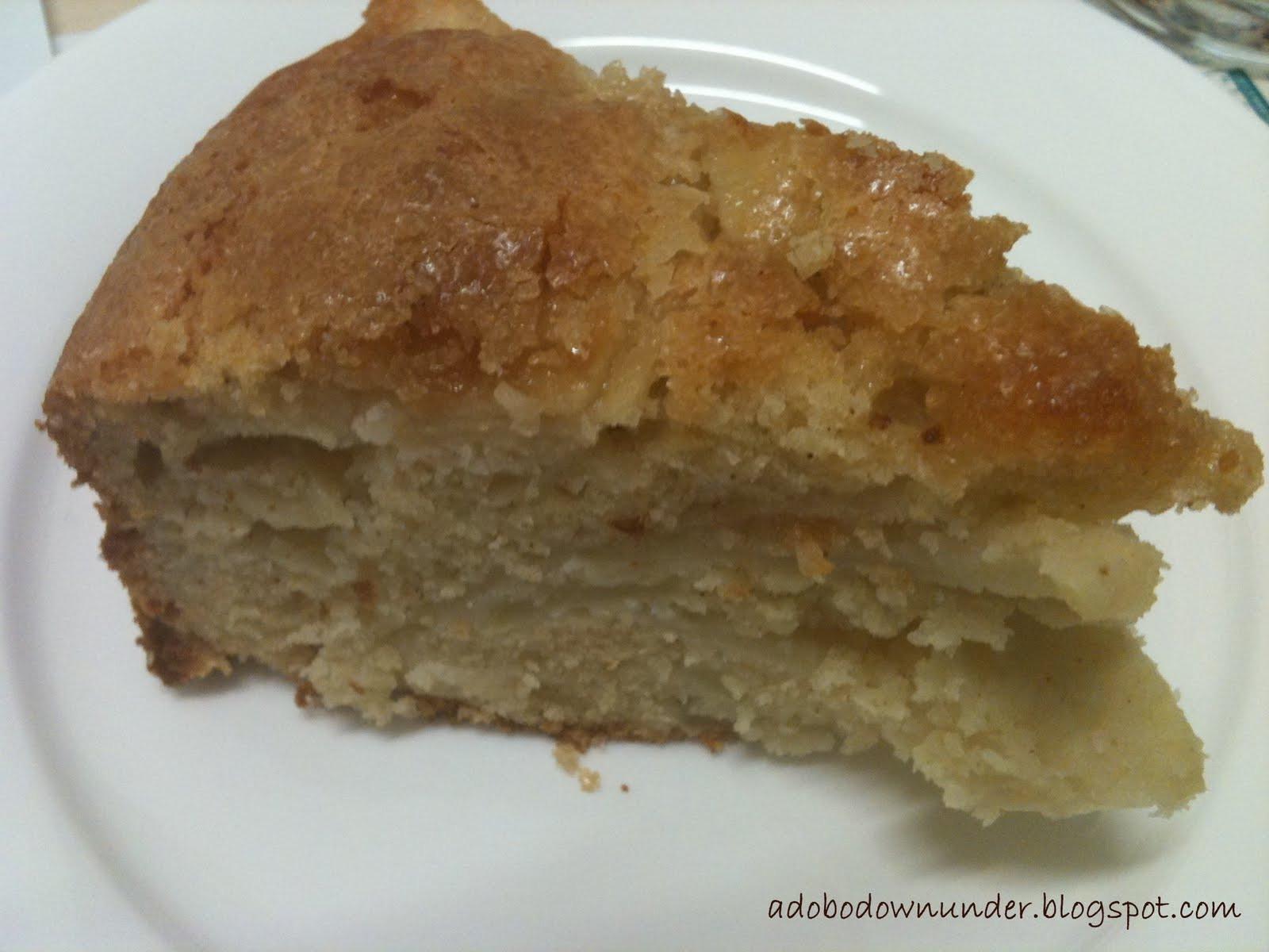 Moist Apple Cake Recipe  adobo down under Moist apple cake revisited