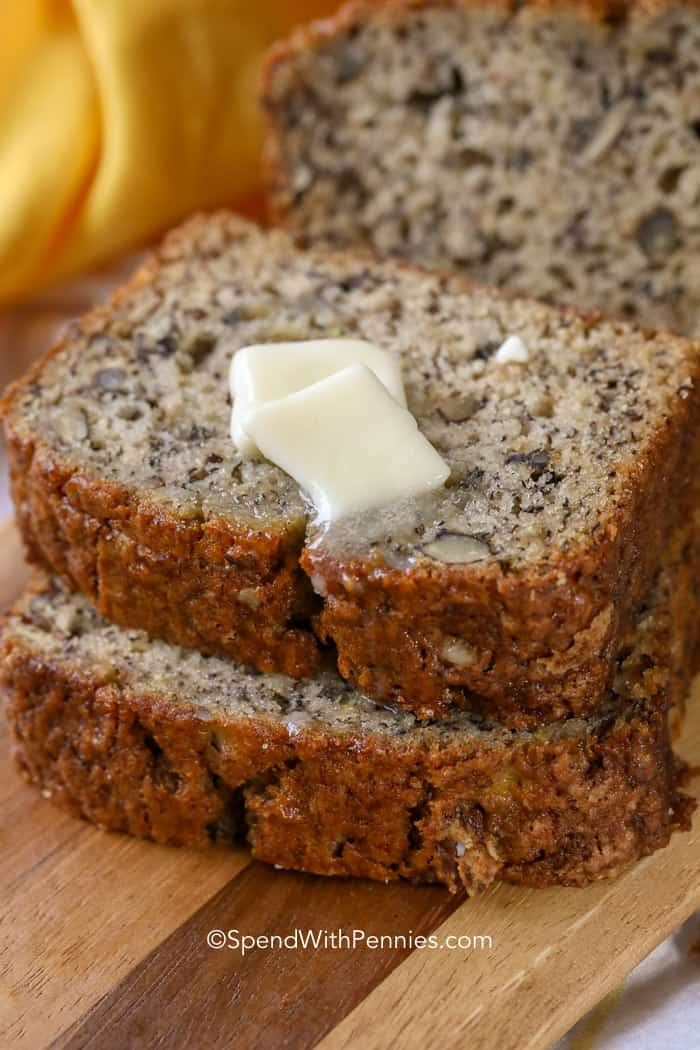 Moist Banana Bread  Easy Banana Bread Recipe Deliciously Moist  Spend with