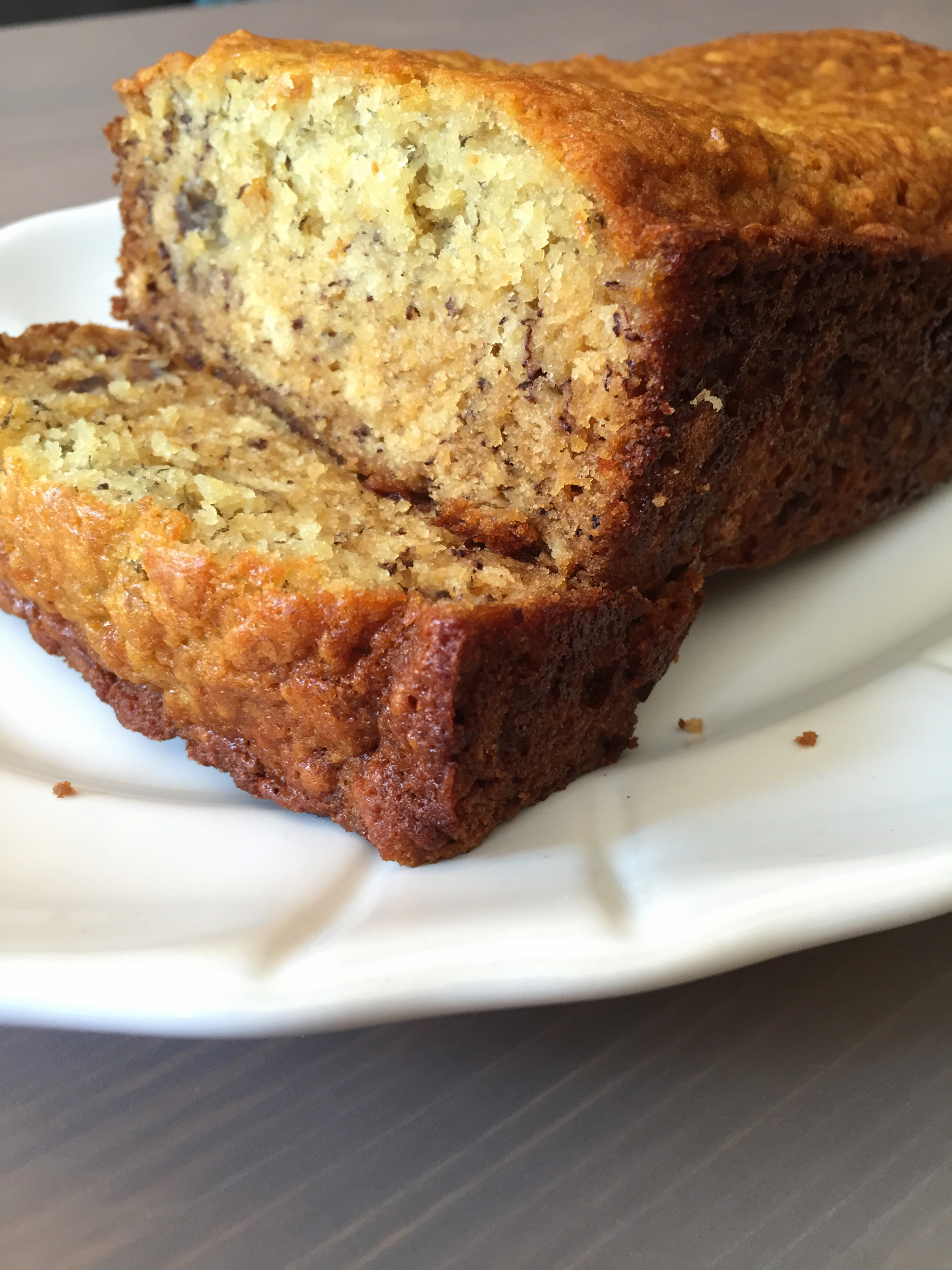 Moist Banana Bread  Grandma Vi's Moist Banana Bread