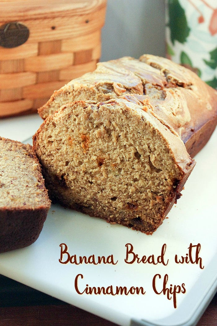 Moist Banana Bread  Moist Banana Bread Recipe with Cinnamon Chips and Peanut