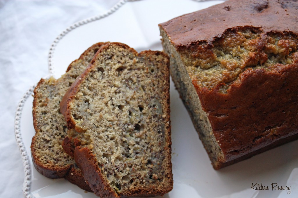 Moist Banana Bread  easy banana nut bread recipe moist