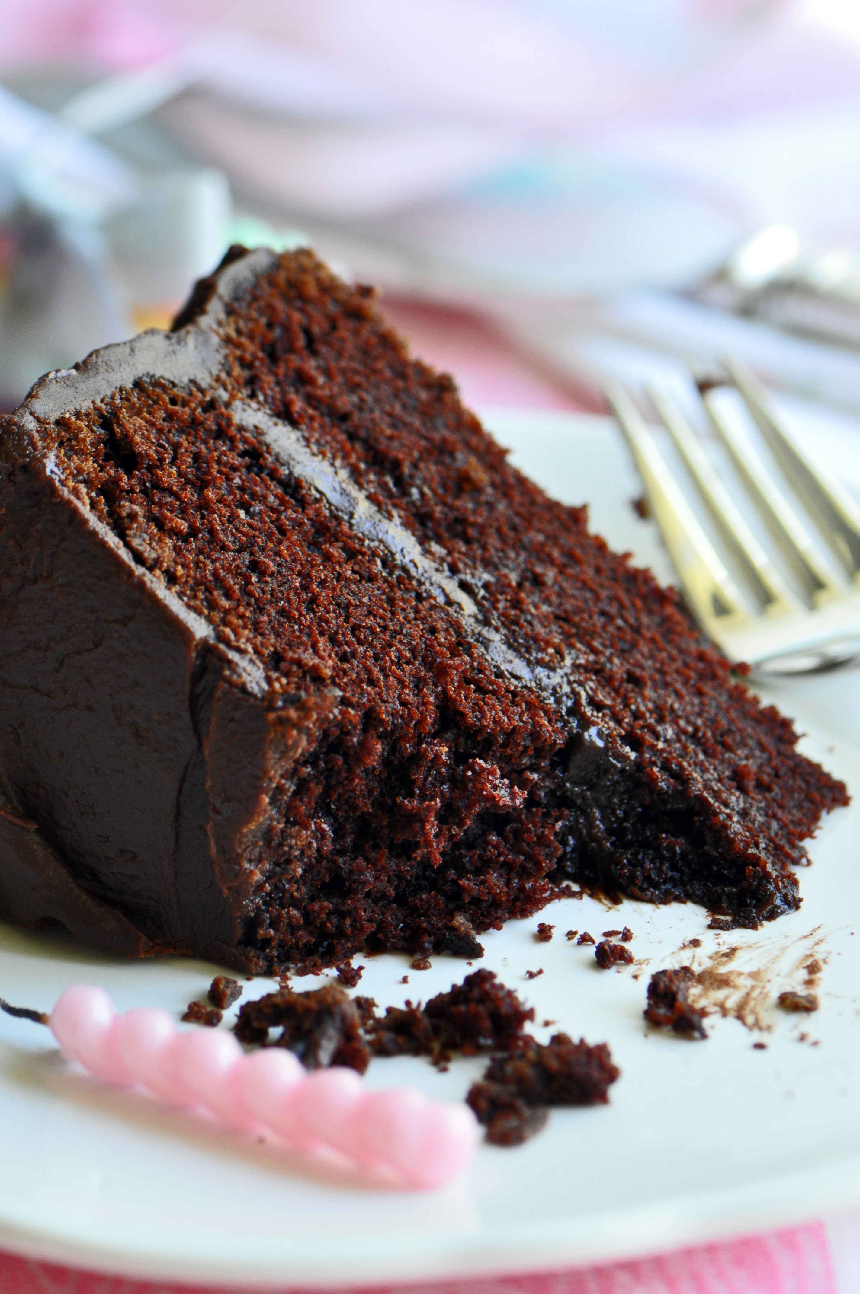 Moist Cake Recipe  moist dark chocolate fudge cake recipe