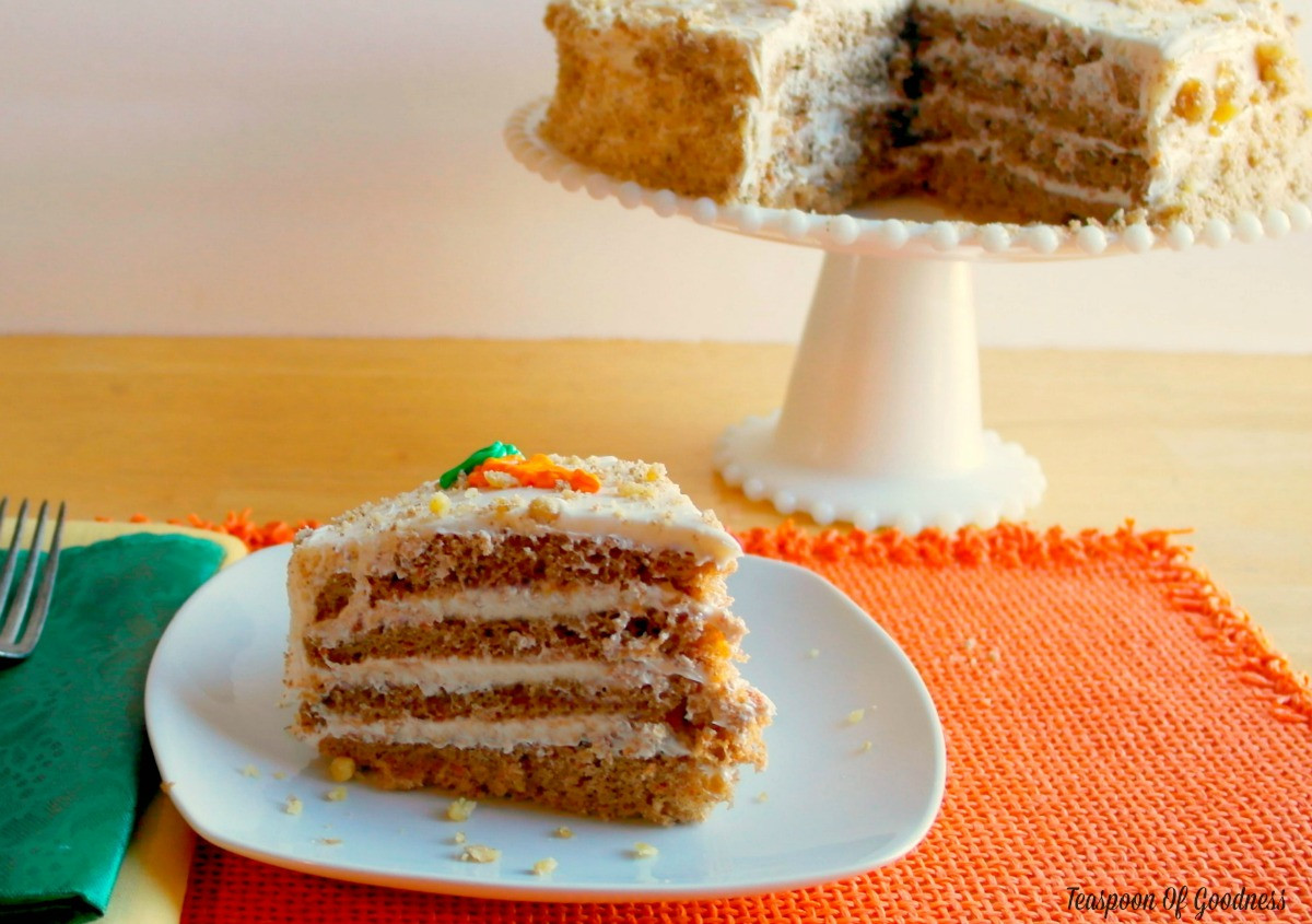 Moist Carrot Cake Recipe  Moist Carrot Cake Recipe With Cream Cheese Icing