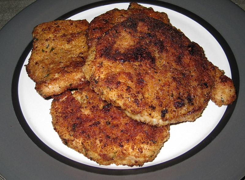 Moist Pork Chops  Parmesan Crusted Pork Chops