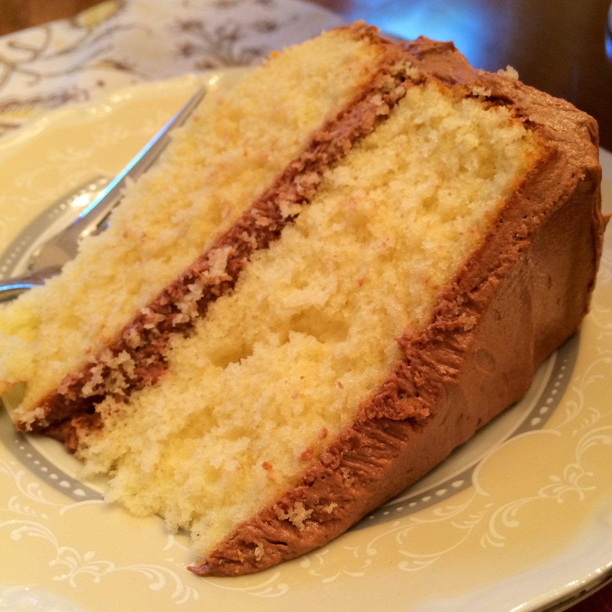 Moist Yellow Cake Recipe  moist yellow cake